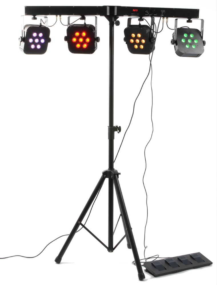 BeamZ LED KLS BAR-28x 10W QCL, DMX, světelná rampa