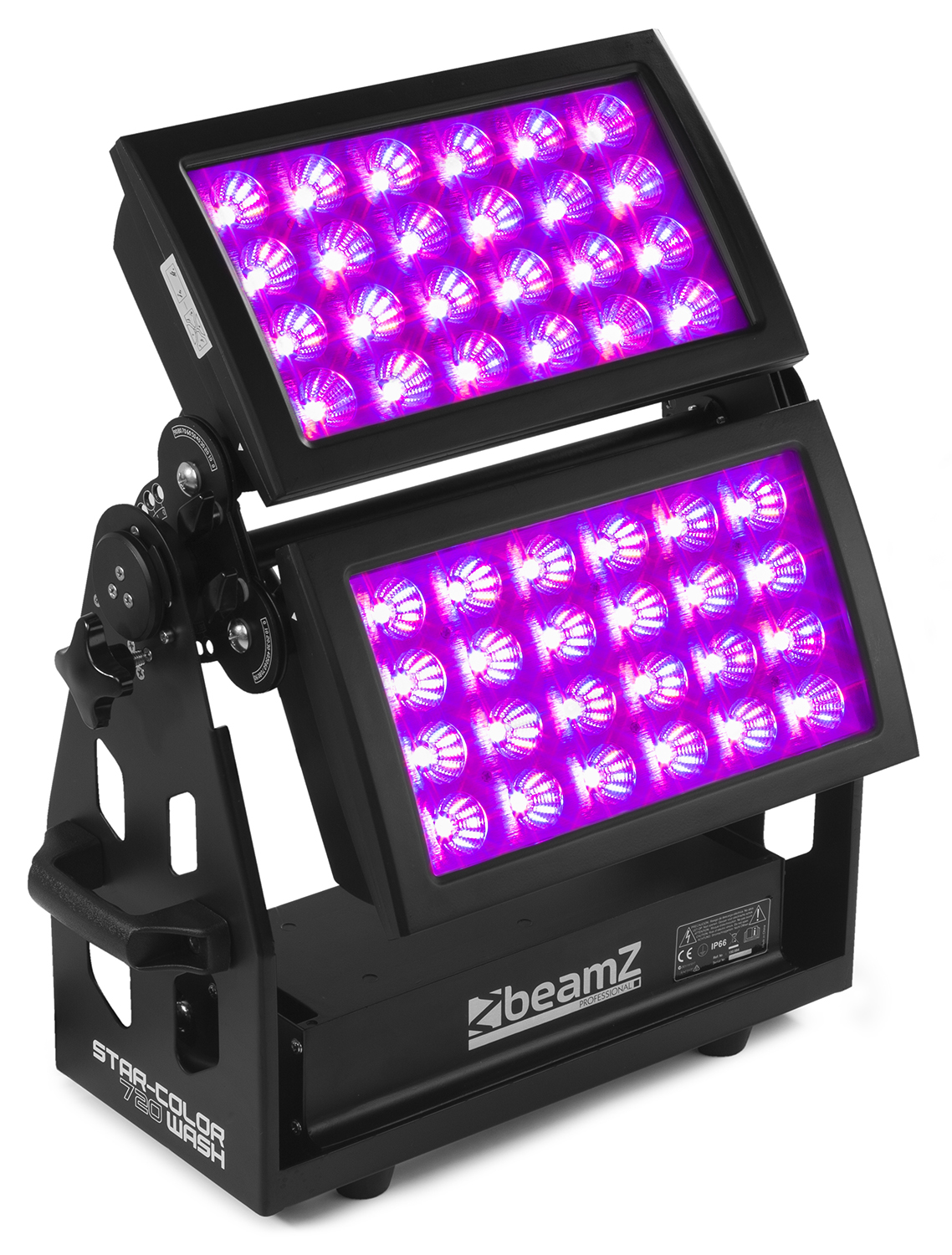 BeamZ Professional Star-Color 720 Double Wash Light, 48x15W HCL LE