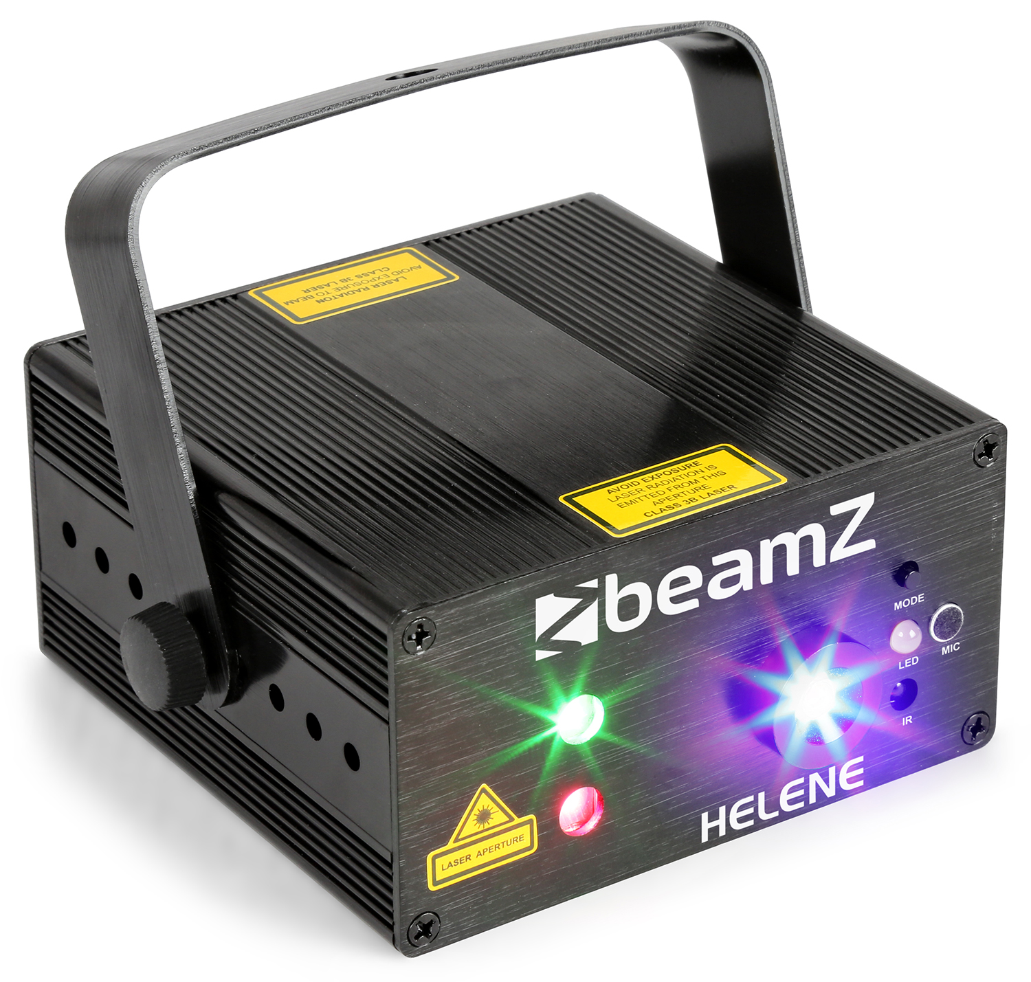 BeamZ Helene Double laser RG Multi point IRC 3W Blue LED