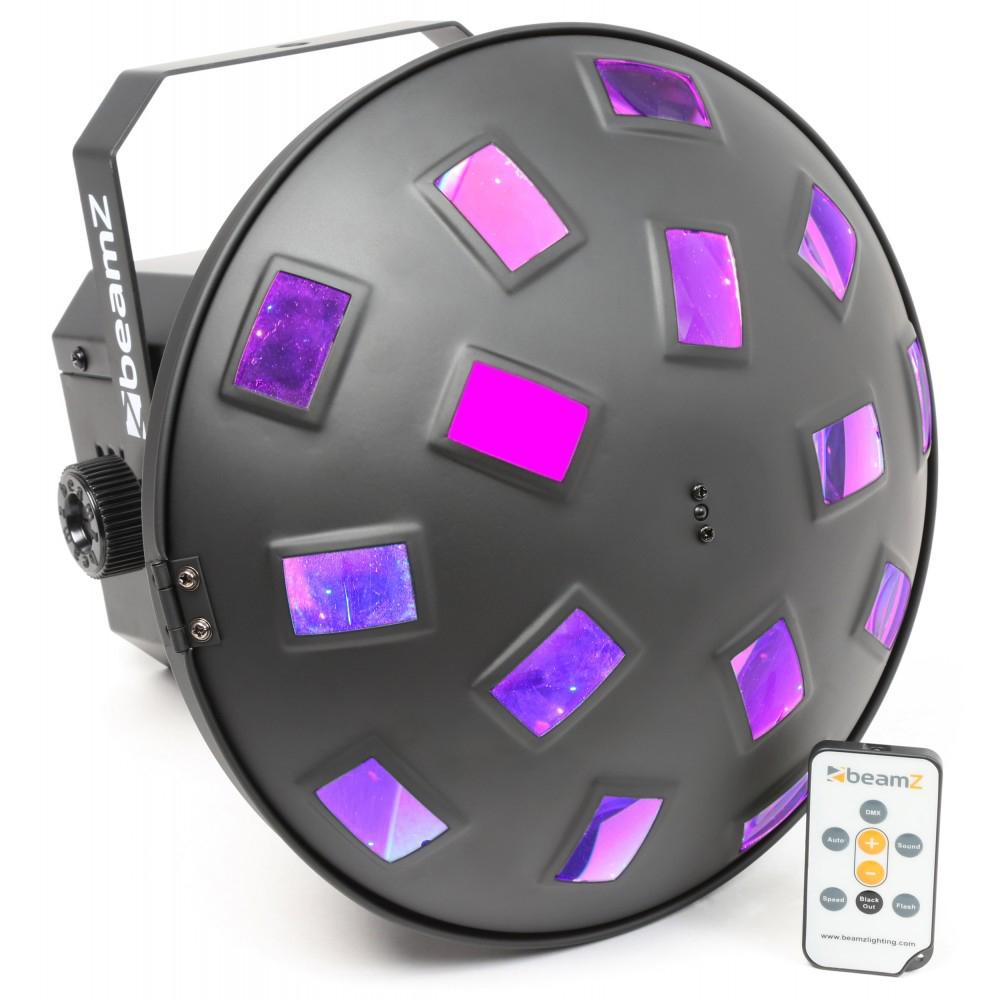 Fotografie BeamZ LED Zig-Zag II 6x3W RGBAWP, IR, světelný efekt