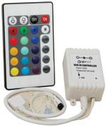 Fotografie BeamZ LED KLS 4, 4x 57 RGBW LED, čirá, světelná rampa