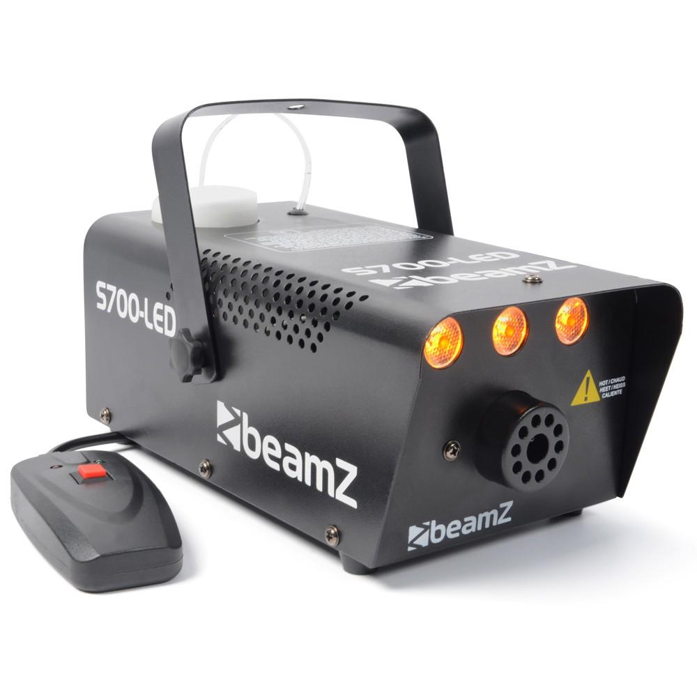 BeamZ S700-LED Flame Efekt, jantarový, výrobník mlhy