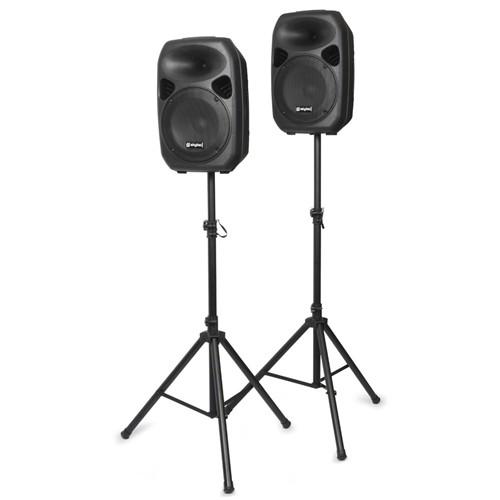 "Skytec Party Speaker Set, 2x 12"", 2x stojan"