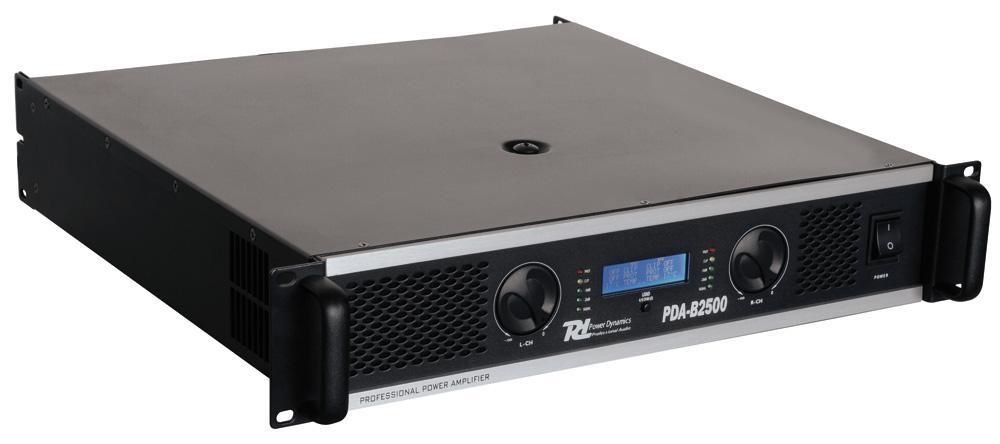 Power Dynamics PDA-B2500 Professional Amplifier