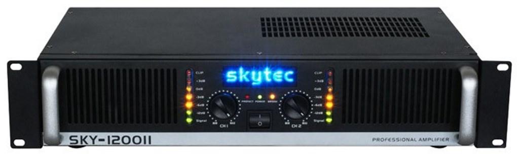 Skytec PA zesilovač PRO-1200 MK II, 2x 600 W