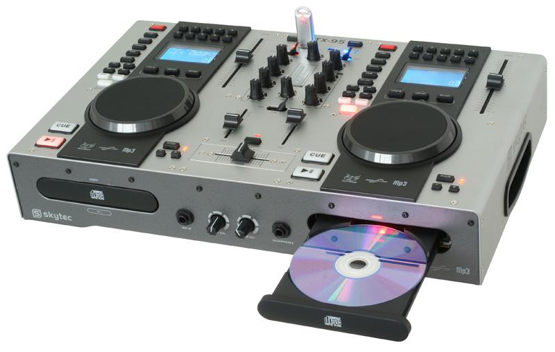 Skytec STX-95 Twin Top CD Player, CD/MP3 přehrávač
