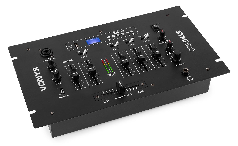 Vexus STM-2500 5-kanálový mix pult s USB/MP3/Bluetooth