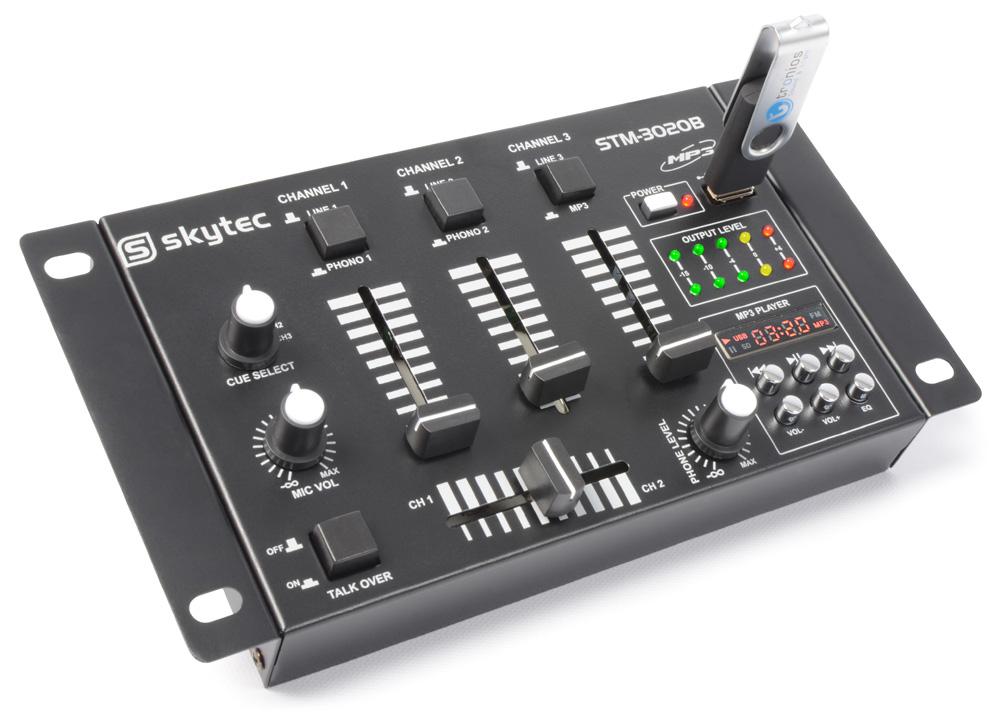 Skytec STM-3020 USB, mini mixážní pult
