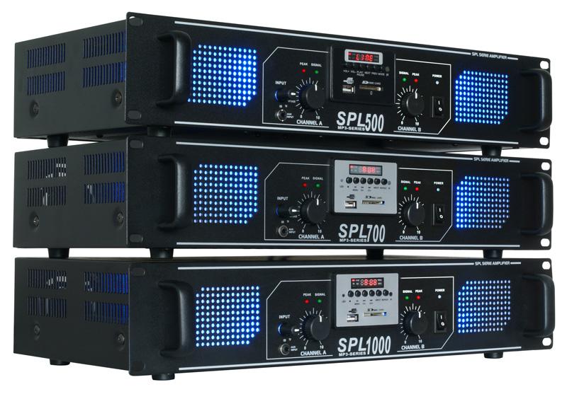 Skytec SPL-500, Hi-Fi zesilovač 2x 50 W s MP3 a tunerem