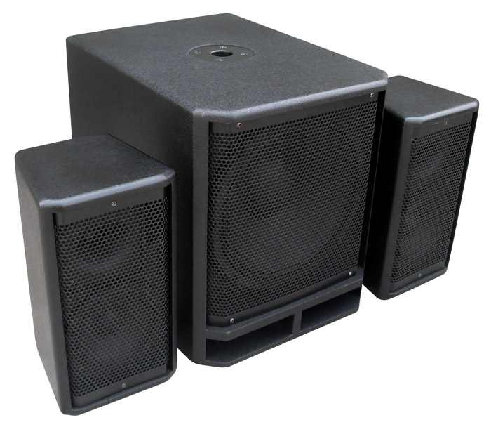 "Power Dynamics PD Combo 1800 18"" Subwoofer + 2x 10"" Satellite spea"