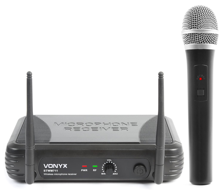 Fotografie Skytec mikrofonní set VHF, 1 kanálový